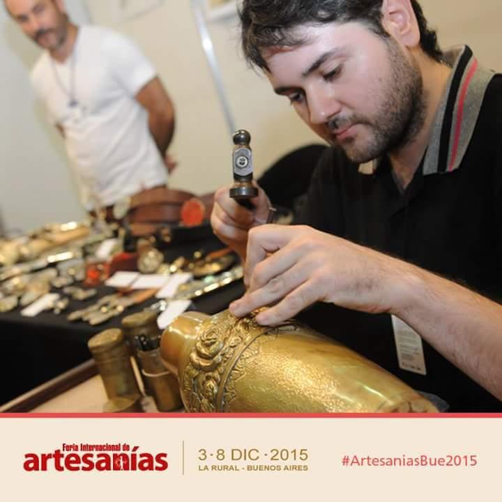 Mauro Sabbatini en la Feria de Artesanías en La Rural - 2015