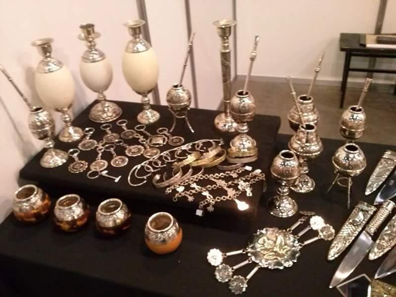 Piezas de orfebrería - Feria de Artesanías 2014