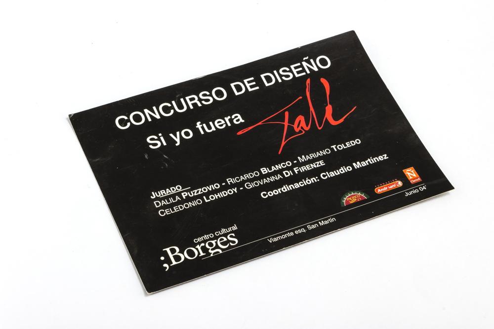 Tarjeta de invitación al concurso Si yo fuera Dalí